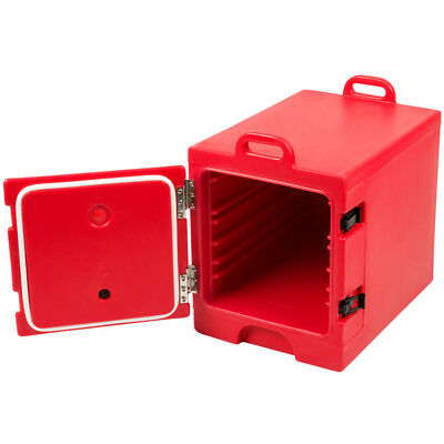 """Cambro 300Mpc158 Pan Carrier, Front Load F/12"""" X 20"""" Pans Red Plastic"""