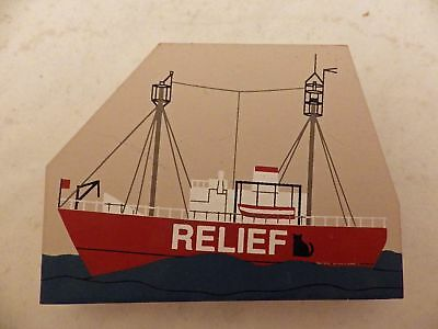 Cat's Meow Village Accessory - Relief Ship