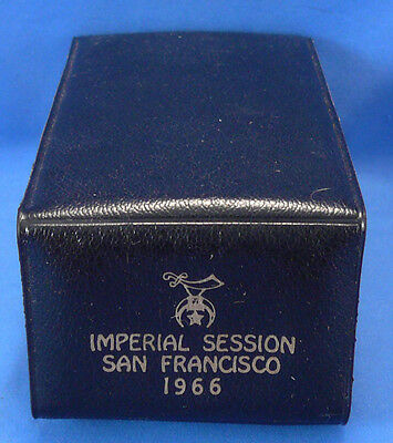 Vintage Imperial Shrine Convention Session,san Francisco Masonic Grooming Kit