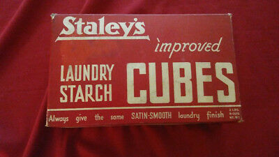 Large Vintage Box of Staley's Starch