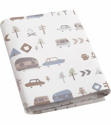 Dwell Studio Canyon  Baby boy Fitted Crib Sheet - Traveling -Camping