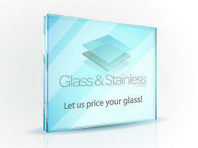 10mm/12mm/15mm/19mm Toughened glass panels - (Min order £150 for FOC Delivery)
