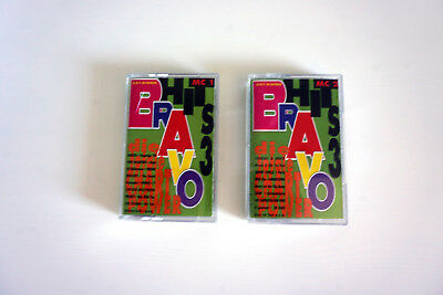 "2 MC-Set Mix-Kassette ""BRAVO HITS 3 III"" Electrola '93 1993 Audio Tape Cassette"