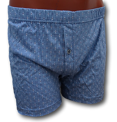 PERSONAL4. Boxer man classic with small button opened. 100% Cotton SANFOR Dis.