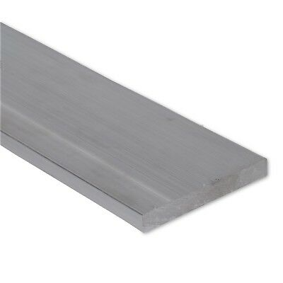 """1/4"""" x 4"""" Stainless Steel Flat Bar, 304 Plate, 1"""" Length, Mill Stock, 0.25"""""""