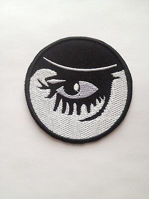 Clockwork Orange ~ Embroidered Patch ~ Iron On Sew On