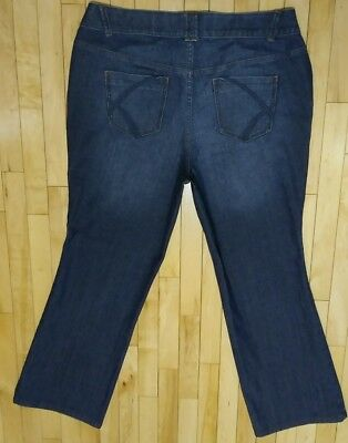 Lane Bryant T3 Tighter Tummy Technology Boot Cut Womens Jeans Size 20