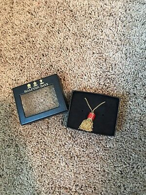 Halcyon Days Necklace Red And Gold