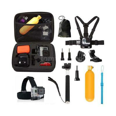 10in1 Sports Action Camera Accessories Kit for Go Pro Hero 5 4 Session 3+ 3 K6Z5