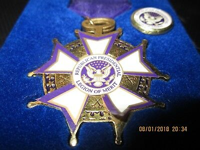 Republican Party Legion Of Merit Medal And Pin