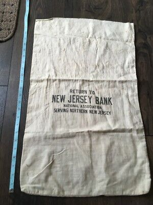 Return to New Jersey Bank national Association serving northern New Jersey Bag