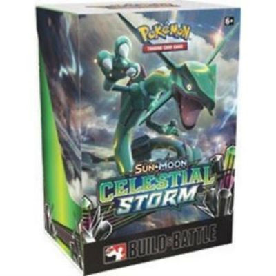 Pokemon TCG Sun and Moon: Celestial Storm BUILD & BATTLE Prerelease Kit
