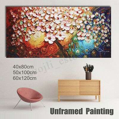 Large Flower Tree Canvas Abstract Print Painting Picture Art Wall Decor Unframed