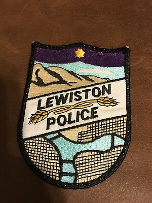 Lewiston Police Patch Idaho