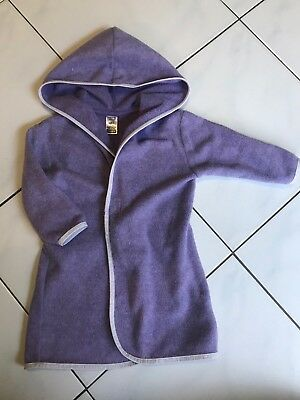 Bonds Vintage Dressing Gown Size 0 Baby Girl Purple