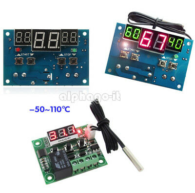 NEW W1401/W1209 12V Digital Thermostat Temperature Control Switch Sensor Module