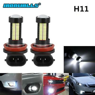 H8 H11 6000K 100W High Power CREE LED Fog Driving Light Canbus Lamp Bulb White