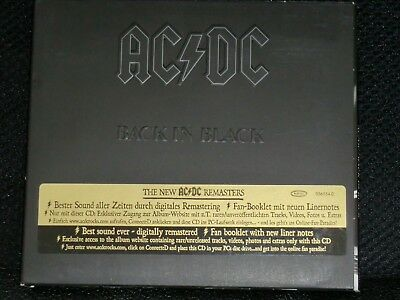 CD AC/DC - Back in Black - P 1980