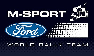 M-Sport Ford World Rally Team 2018 Logo Sticker