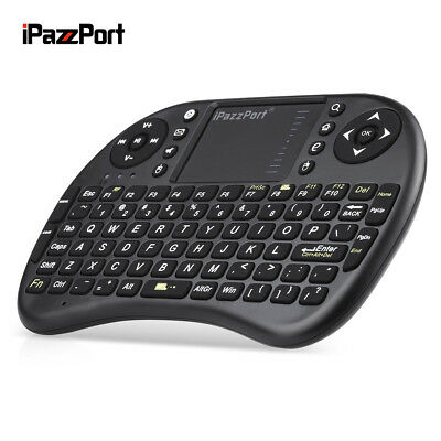 iPazzPort M2S 2.4GHz Wireless /QWERTZ Tastatur Keyboard Maus Touchpad English