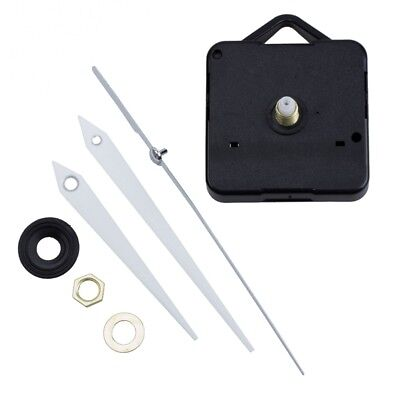 Quartz Clock Movement Mechanism DIY Repair Parts + White Hands N1O8