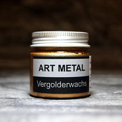 Art Metal Vergolderwachs Antikgold 50 ml vergolden versilbern Gold