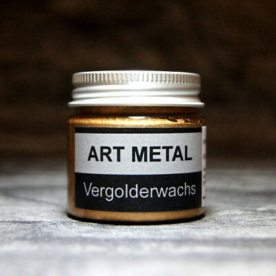 Art Metal Vergolderwachs Antikgold 50 ml