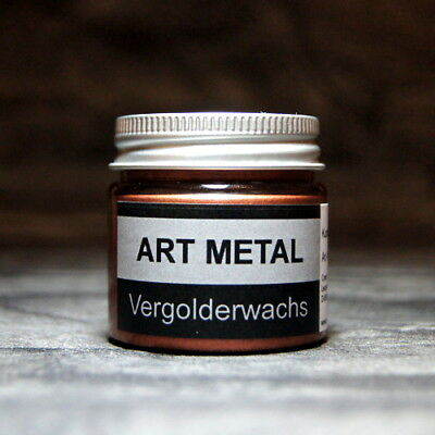 Art Metal Vergolderwachs Kupfer 50 ml Vergolden Versilbern