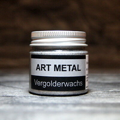 Art Metal Vergolderwachs Silber 50 ml