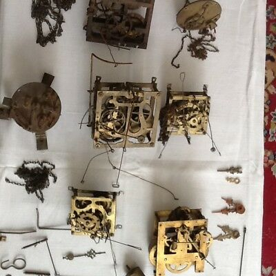 Vintage antique cuckoo clock mechanism spares repairs steampunk SE3 pick up