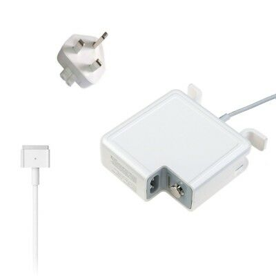 45W T Power Charger Adapter For Apple Magsafe 2 Mac Macbook Air 13/11 A1466/1465
