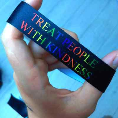 Treat People With Kindness wristband