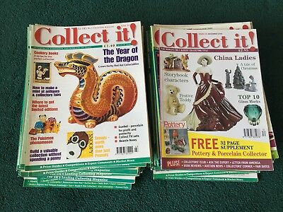58 Issues of 'Collect It!' Magazine - Joblot