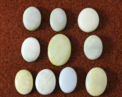 24 To 33 Mm Oval Shaped Gaspeite Gemstone Ss1136