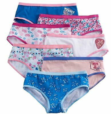 American Girl Panties Hipster Underwear 7 Pairs Tenney Grant Sizes 6 8 10