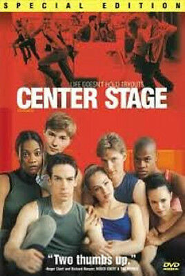 Center Stage Special Edition (DVD, 2000) - NEW!!