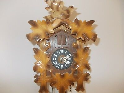 Small Black Forest Cuckoo Clock...& Fully Functional