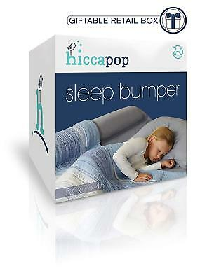 Toddler Bed Sleep Bumper, Foam Safety Guard for Bed, Side Rail, Pillow Pad Kids