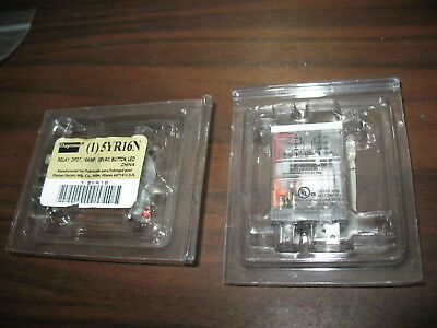 New Lot of 2 Dayton 5YR16N 120V Relays