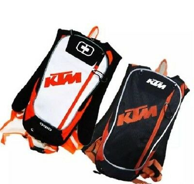 Motorcycle Bag Motocross Offroad Racing Backpack with TPU Water New KTM