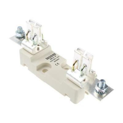 1 x Mersen S219804C 400A Rail Mount Fuse Holder for 2 Fuse, 660V ac