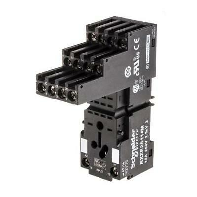 1 x Schneider Electric Relay Socket RXZE2S114M, 250V ac for use with RXM4 Series