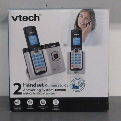 VTech Handset Connect Cell Answering Phone System Bluetooth DS6621-2 - Open Box