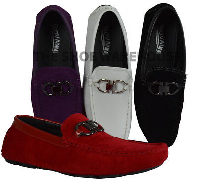 Men's Giovanni Dress Shoe Driving Moccasin Wedding Loafer Italian Casual M1207