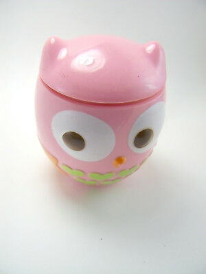 """Target Owl Sippy Cup Pink Cute 4"""" 2000"""