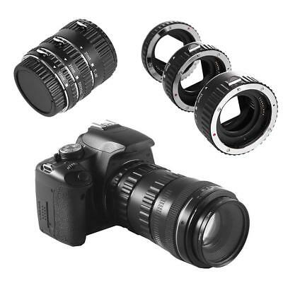 Auto Focus Macro Extension Tube Ring Lens Adapter Set for Canon EOS Lens M Mount