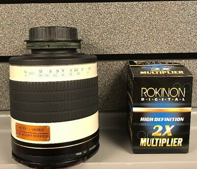Rokinon | Mirror Lens | 500 MM | Tested and Works | Used | Ships Fast