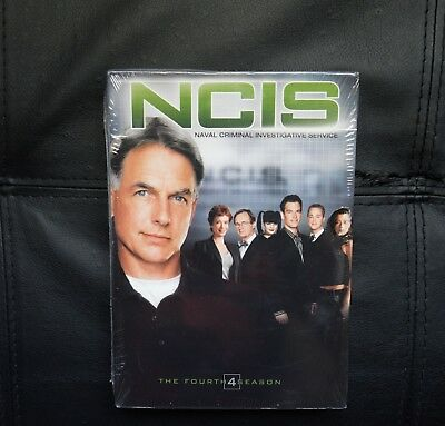 NCIS - The Complete Fourth Season (DVD, 2007, 6-Disc Set, Widescreen)BRAND NEW