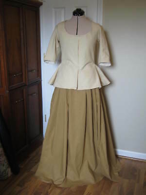 Colonial Caraco and Petticoat size 12
