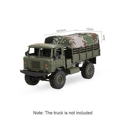 Canvas Truck Hood Cover for WPL B-24 1/16 RC Military Rock Crawler U8J3
